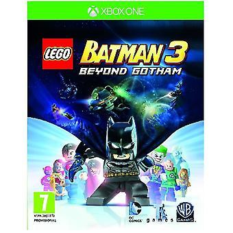 LEGO Batman 3 yli Gotham Xbox yksi peli