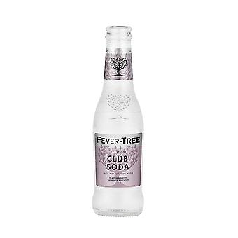 Fevertree Club Soda Water -( 200 Ml X 24 Cans )