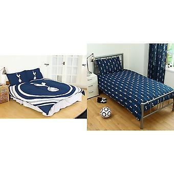 Tottenham Hotspur FC Official Pulse Design Reversible Duvet And Pillowcase Set