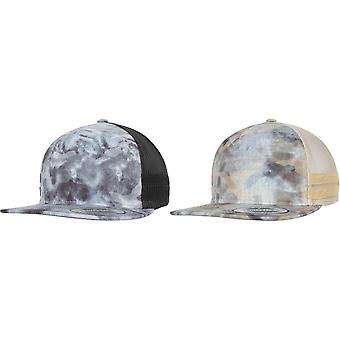 Flexfit By Yupoong Used Camo Trucker Cap