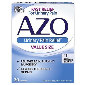 Azo standard urinary pain relief, tablets, 30 ea