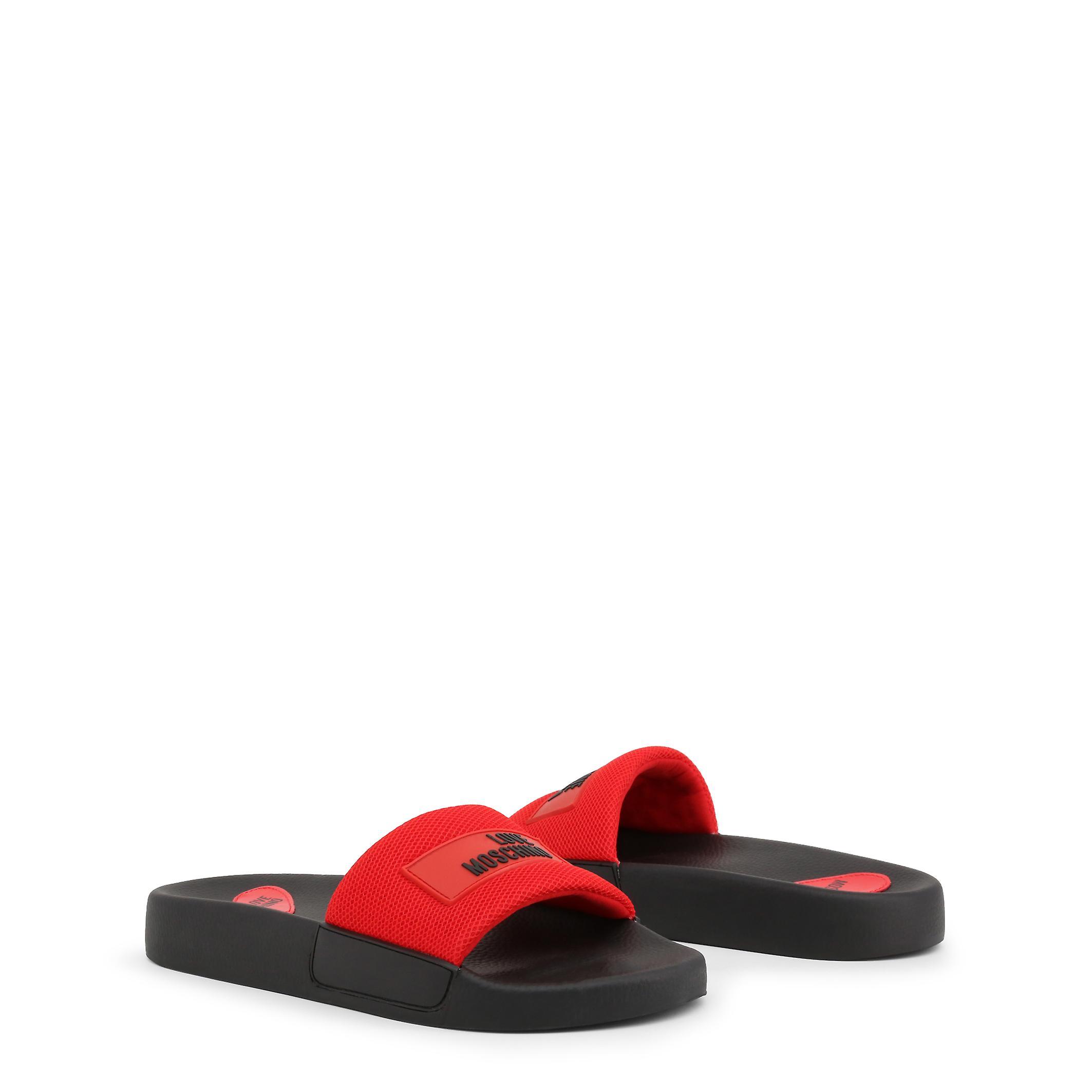 Love Moschino Original Women Spring/Summer Flip Flops Couleur Noire - 72632