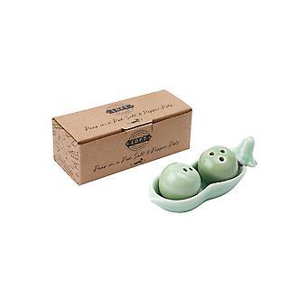 CGB Giftware Loft Peas in a Pod Salt and Pepper Pot Set
