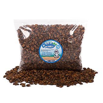 1kg pullea kuivattu silkkiäistoukka pupae