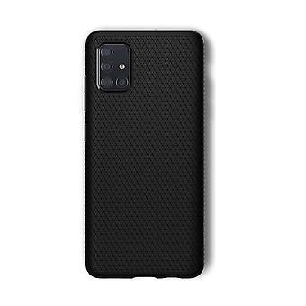 Hull voor Samsung Galaxy A51 Liquid Air Black Mat