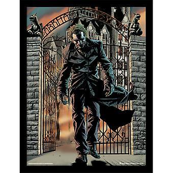 Batman Jokeri vapautetaan kehystetty levy 30 * 40cm