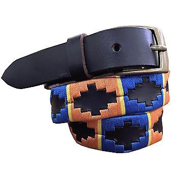Carlos diaz boys  brown leather  polo belt cdkupb26
