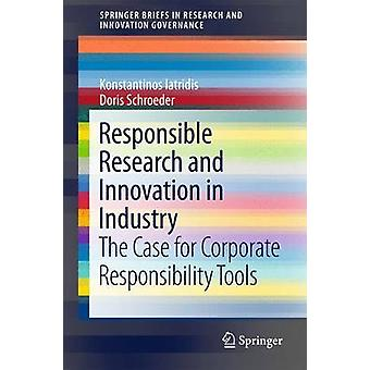 Responsible Research and Innovation in Industry - The Case for Corpora