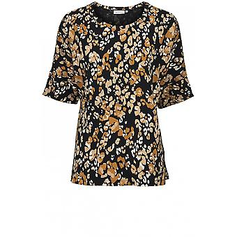 Masai Kleding Dalis Abstract Print Top