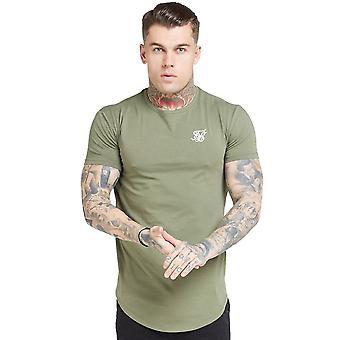 Sik Seide Ss-15813 Kurzarm Core Gym T-shirt - Khaki