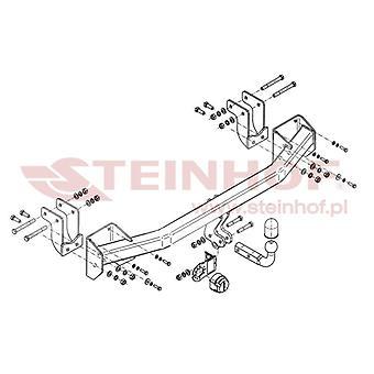 Steinhof Towbar (fixes 2 bolts) for Mitsubishi OUTLANDER mk3 2012-2017