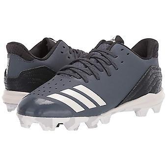 الأطفال أديداس الأولاد أيقونة 4 الجلود المنخفضة أعلى الدانتيل حتى أحذية كرة القدم