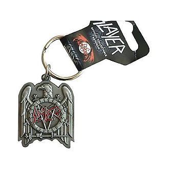 Slayer Keyring Keychain Eagle band Logo new Official metal