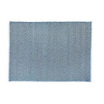 Hug Teppich gewebt Fischgrät Denim Rechteck Teppiche moderne Teppiche