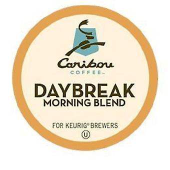 Caribou Coffee Daybreak Morning Blend Keurig K-Cups 12 Cup Box