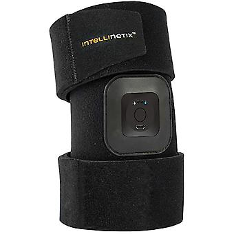 Brownmed Intellinetix Vibrating Foot and Ankle Therapy Wrap - Universal - Black