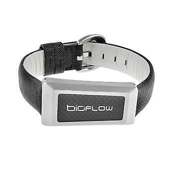 Bioflow - Windsor Magnetic Leather Wristband
