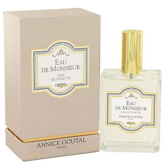 Eau De Monsieur Eau De Toilette Spray By Annick Goutal 3.4 oz Eau De Toilette Spray