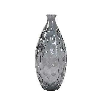 Light & Living Vase 18x38cm Mantega Glass Blue