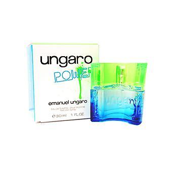 Emanuel Ungaro Power Eau de Toilette Pour Homme 30ml Spray For Him