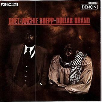 Shepp/Dollar Brand - Duet [CD] USA import