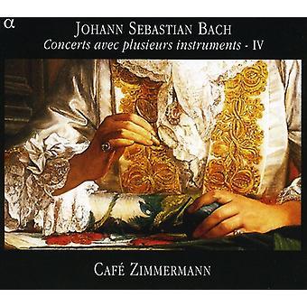 J.S. Bach - Bach: Concertos Avec Plusieurs instrumentos, importação EUA Vol. 4 [CD]