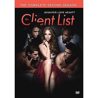 Client List: Complete Second Season [DVD] USA import