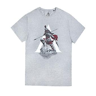 Assassins Creed Odyssey Knight Character Gaming Short Sleeve Men's T-Shirt