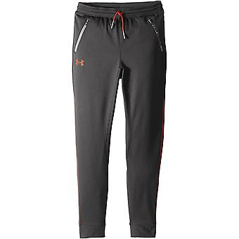 Under Armour Pennant Kids Tapered Tracksuit Pant Trouser Grey