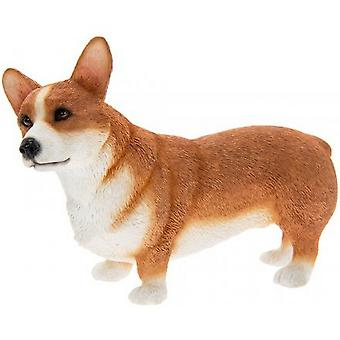 Brown Corgi Figurine