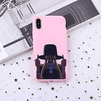 F-you fille tresses chapeau premium qualité shell iPhone11 Pro Max