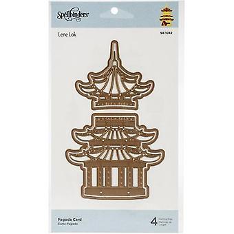 Spellbinders Pagoda Card Cutting Dies