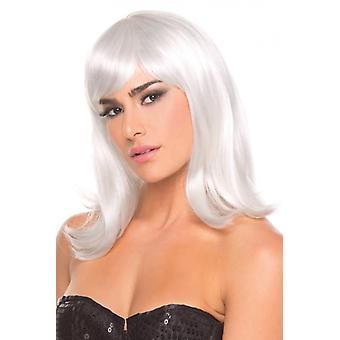 Perruque de poupée - Blanc