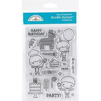 تصميم Doodlebug عيد ميلاد بوي خربش الطوابع