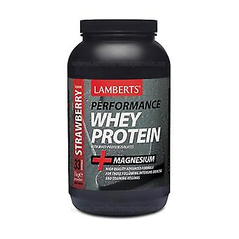 Whey Protein 1 kg (Strawberry)