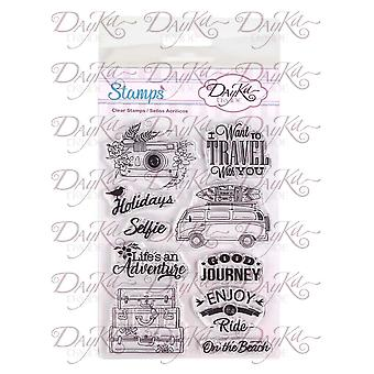 DayKa Trade Life is an Adventure Stamps