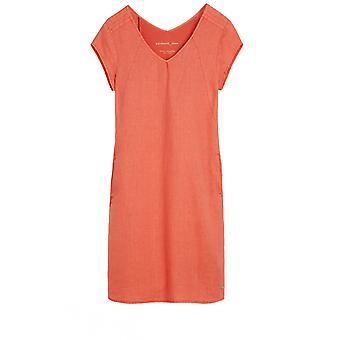Sandwich Clothing Coral Linen Dress