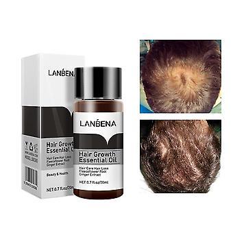 Leistungsstarke Haarwuchs Essenz Öl Behandlung - Prävention von Haarausfall, Haarpflege