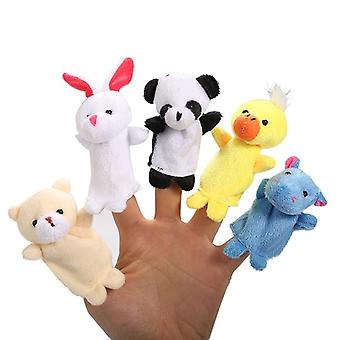 Cartoon Finger Puppet, Animal Child Cute Dolls Telling Stories To The Baby