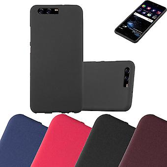 Cadorabo Case for Huawei P10 Case Cover - Mobile Phone Case made of flexible TPU silicone - Silicone Case Protective Case Ultra Slim Soft Back Cover Case Bumper