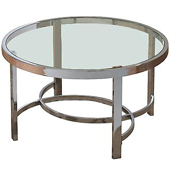 Luke Coffee Table - Chrome
