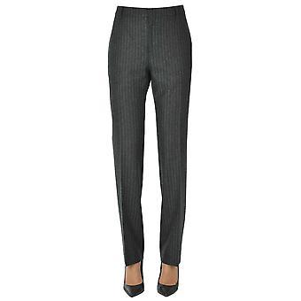 Céline Ezgl076053 Women's Grey Wool Pants