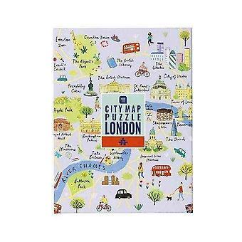 palapeli Lontoo Kartta 250 kpl itse eristäminen