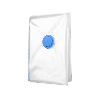 Premium Space Saver Anti Pest Foldable Wardrobe Vacuum Storage Bag For Blanket Clothes Quilt Organizer