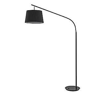 Ideale Lux Daddy - 1 Lichte Vloerlamp Zwart, E27