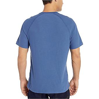 Essentials Miesten&s Slim-fit Slub Raglan Crew T-paita