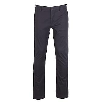 NN07 Theo 1500 Black Chino Trousers