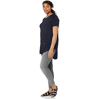 Marke - Daily Ritual Women's Jersey Short-Sleeve Open Crew Neck Tunika,...