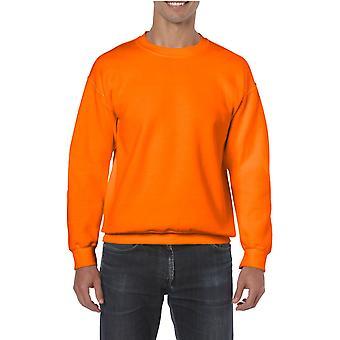 GILDAN G18000 Schwere Mischung Sweatshirt in Sicherheit Orange