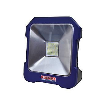 Faithfull Power Plus SMD LED Task Light with Power Take Off 20W 240V FPPSLTL20